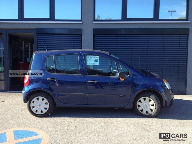 2004 renault modus 1 5 dci car photo and specs. Black Bedroom Furniture Sets. Home Design Ideas