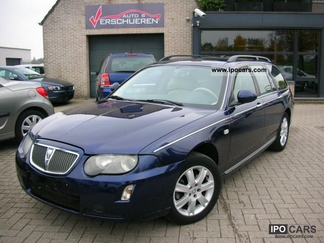 2004 rover 75 2 0 cdti facelift model 2005 car photo and specs rh ipocars com Rover 600 Rover 75 Spares