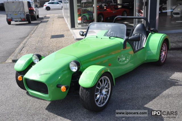 2009 Westfield  LHD, plant construction, super light 520kg Cabrio / roadster Used vehicle photo