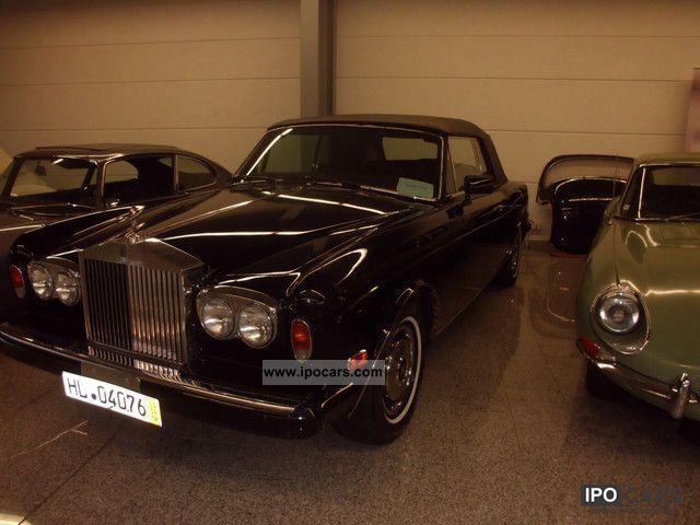 1985 Rolls Royce  Corniche Cabrio / roadster Used vehicle photo