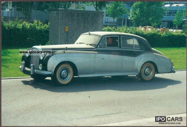 Rolls Royce  S 2 Saloon 1960 Vintage, Classic and Old Cars photo