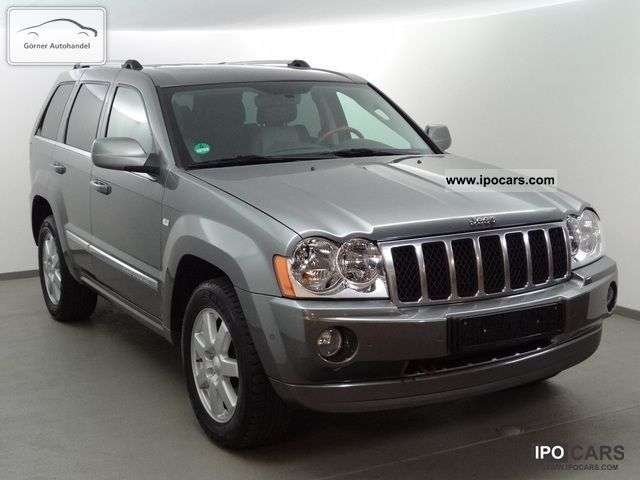 2007 chrysler jeep grand cherokee 3 0 crd limited ahk sd car photo and specs. Black Bedroom Furniture Sets. Home Design Ideas