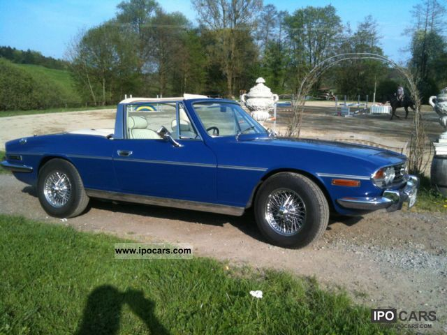 Triumph  Stag RHD, 4 threads + OD, hard and soft top 1976 Vintage, Classic and Old Cars photo