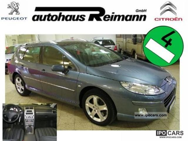 2012 Peugeot  407 SW HDi 170 LEATHER / Xenon / PDC / and many others. Estate Car Used vehicle photo