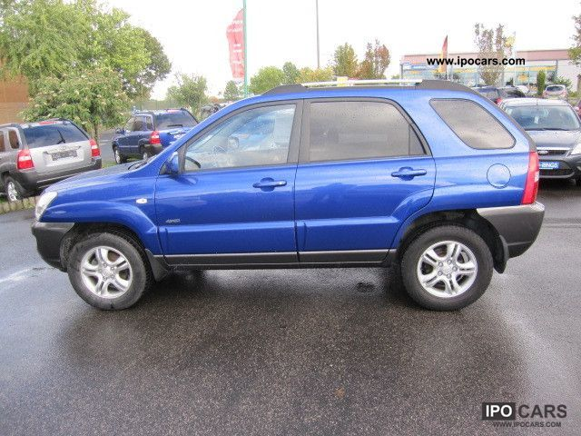 2004 Kia Sportage 2.0 4WD/Allrad Off-road Vehicle/Pickup Truck Used ...