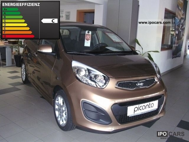 2012 Kia  PICANTO 1.0 COPA BRASIL - leather, climate, Sitzheizu Small Car Demonstration Vehicle photo