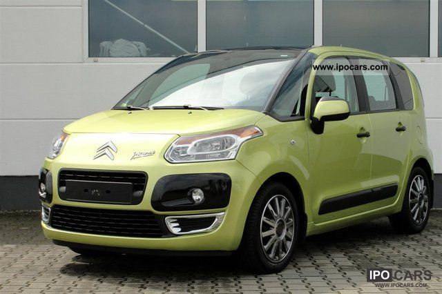 2009 citroen citro n c3 picasso 1 4 vti 5tg car photo and specs. Black Bedroom Furniture Sets. Home Design Ideas