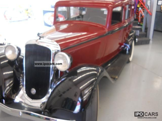 Plymouth  Altele 1933 Vintage, Classic and Old Cars photo