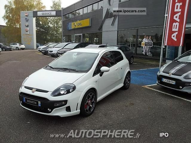 2012 Abarth  Punto 1.4 Turbo Mair Evo S & S Limousine Used vehicle photo