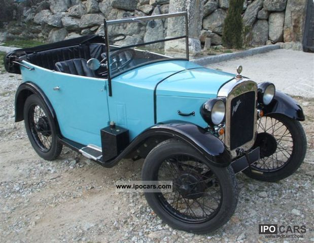 Austin  Seven Chummy Sports Tourer 1930 Vintage, Classic and Old Cars photo