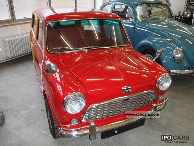 1963 austin mini countryman woody treveller car photo and specs. Black Bedroom Furniture Sets. Home Design Ideas