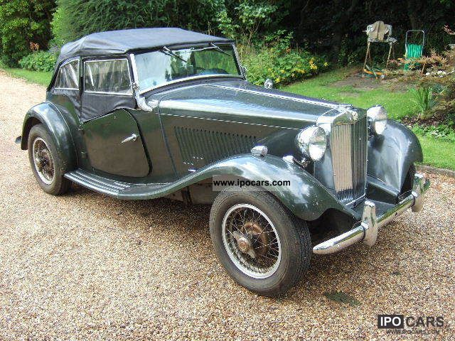MG  TD vintage 1952 1952 Vintage, Classic and Old Cars photo