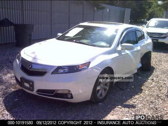 2012 Acura  TL DO SPROWADZENIA - USA Limousine Used vehicle photo