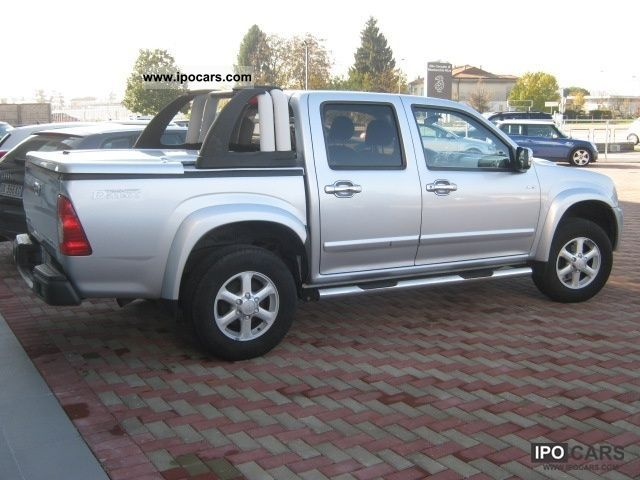 2006 isuzu pick up ls diesel automatico car photo and specs. Black Bedroom Furniture Sets. Home Design Ideas