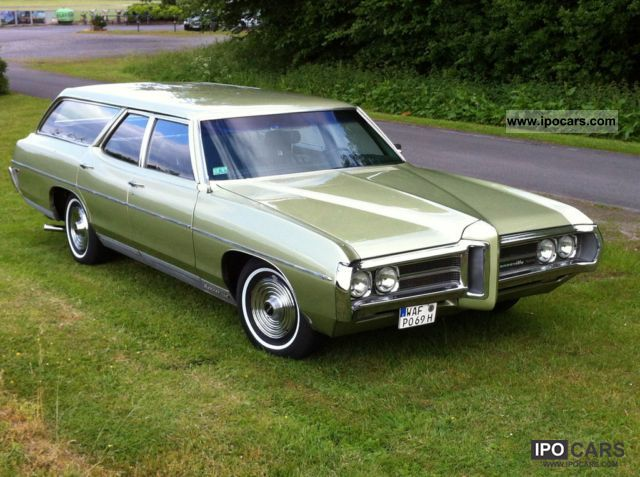 Pontiac  Bonneville Station Wagon 1969 Vintage, Classic and Old Cars photo