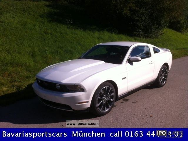 2012 Ford  2011 Mustang GT Prem., California Special, Comfort Sports car/Coupe Used vehicle photo