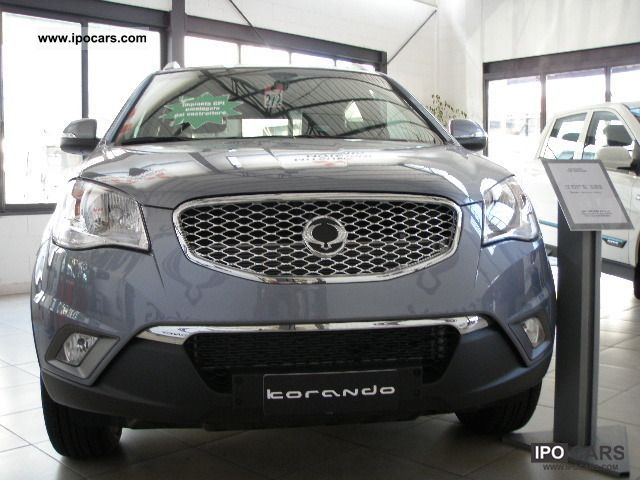 Ssangyong  KORANDO G.P.L. 2.0 2WD C NUOVO 2012 Liquefied Petroleum Gas Cars (LPG, GPL, propane) photo