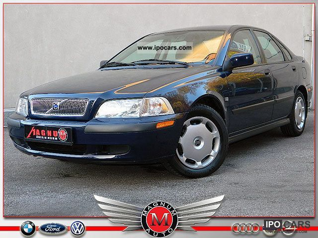 2000 Volvo  S40 1.8 * automatic * air * AHK * 1.Hand, born in 1942 * Limousine Used vehicle photo