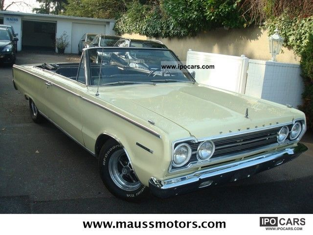 Plymouth  Belvedere Convertible 1969 Vintage, Classic and Old Cars photo