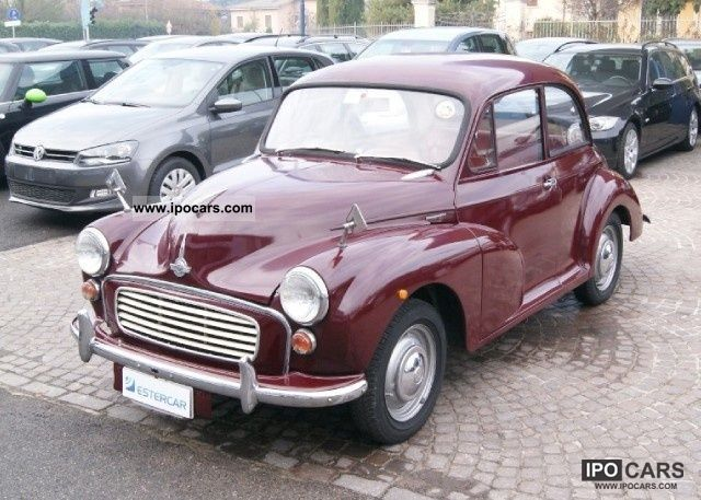 MINI  Morris Minor 1000 - STUPENDA Vettura D'EPOCA ISC 1969 Vintage, Classic and Old Cars photo