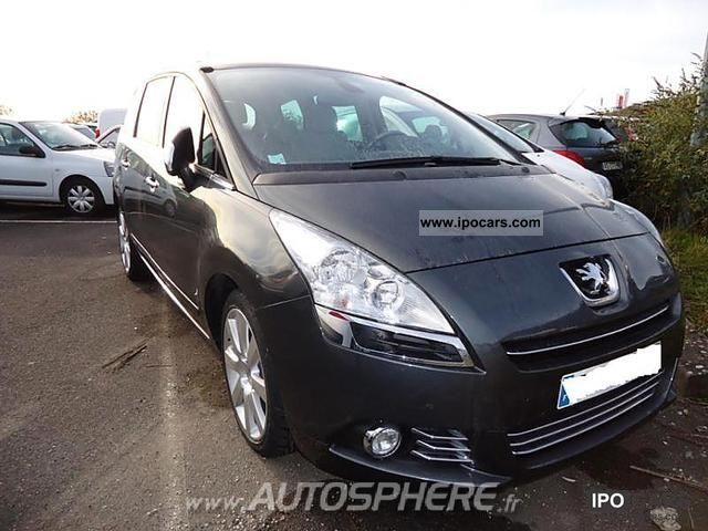 2010 peugeot 5008 2 0 hdi163 fap premium pack ba 5pl car photo and specs. Black Bedroom Furniture Sets. Home Design Ideas