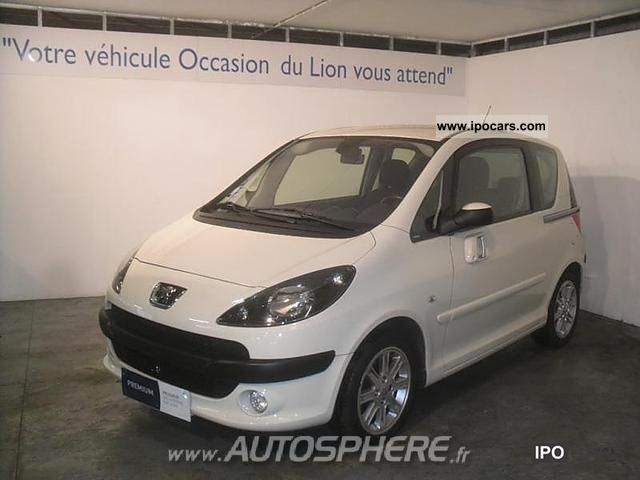 2007 Peugeot  1007 1.6 HDi110 FAP Sporty Pack Limousine Used vehicle photo