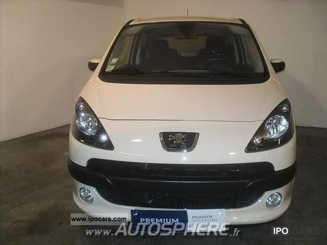 2007 peugeot 1007 1 6 hdi110 fap sporty pack car photo and specs. Black Bedroom Furniture Sets. Home Design Ideas