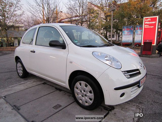2006 nissan micra 1 2 acenta air car photo and specs. Black Bedroom Furniture Sets. Home Design Ideas