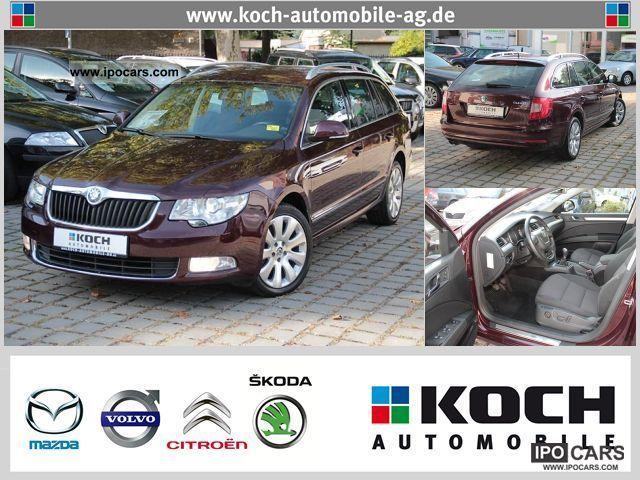 2010 Skoda  Superb Estate Elegance 2.0 TDI 170HP xenon Estate Car Used vehicle photo
