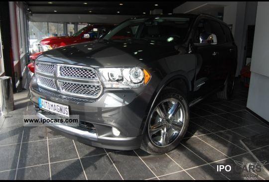 2012 Dodge  3.6L V6 Durango Citadel - xenon, leather, DVD Off-road Vehicle/Pickup Truck New vehicle photo