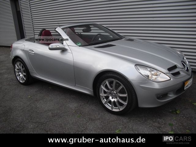 2005 mercedes benz slk 280 auto leather red. Black Bedroom Furniture Sets. Home Design Ideas