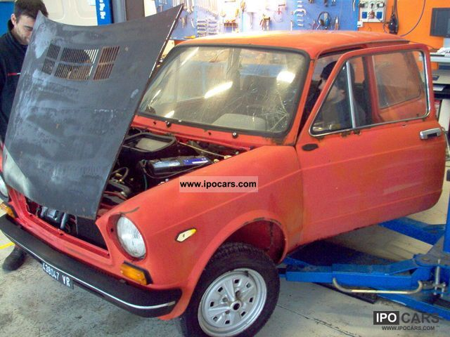 1977 Abarth  a 112 hp abarth 7o Sports car/Coupe Used vehicle photo