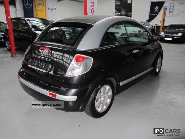 2006 citroen c3 pluriel 1 4 exclusive car photo and specs. Black Bedroom Furniture Sets. Home Design Ideas