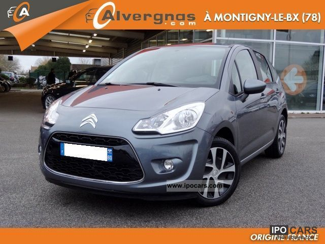 2011 citroen c3 1 4 hdi 70 comfort ii 5p car photo and specs. Black Bedroom Furniture Sets. Home Design Ideas