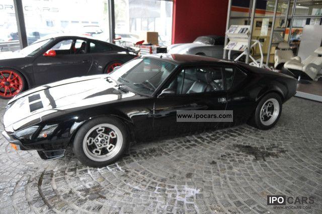1981 DeTomaso  Pantera GTS H-plates Sports car/Coupe Used vehicle photo
