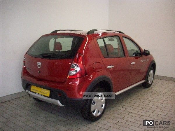 2012 dacia sandero 1 6 mpi stepway euro 5 saloon car photo and specs. Black Bedroom Furniture Sets. Home Design Ideas