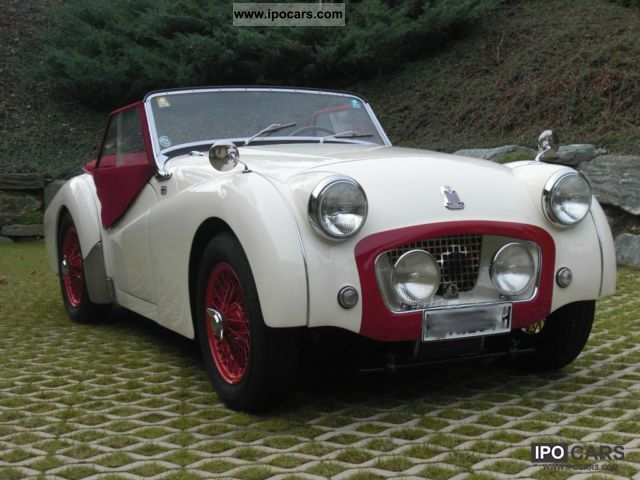 Triumph  TR3 1954 Vintage, Classic and Old Cars photo