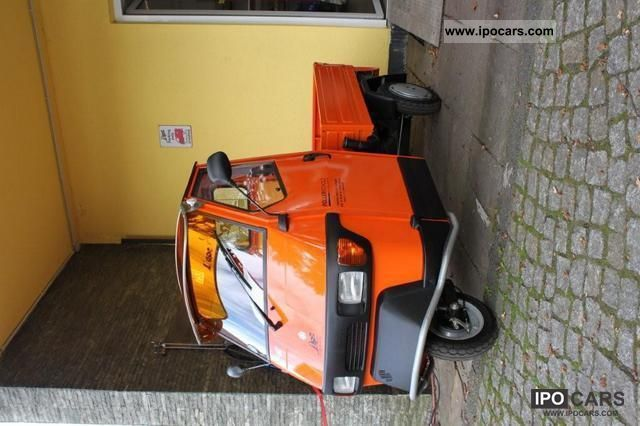 2012 Piaggio  APE 50 flatbed II Can you even more attention e Estate Car New vehicle photo