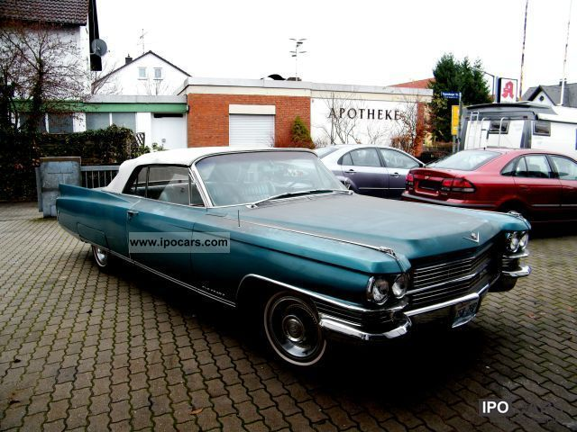 Cadillac  Eldorado 1963 Vintage, Classic and Old Cars photo