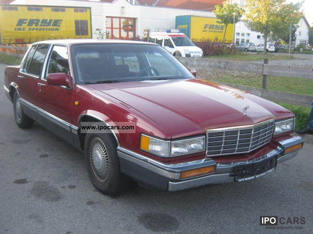 1991 Cadillac Deville - Car Photo and Specs