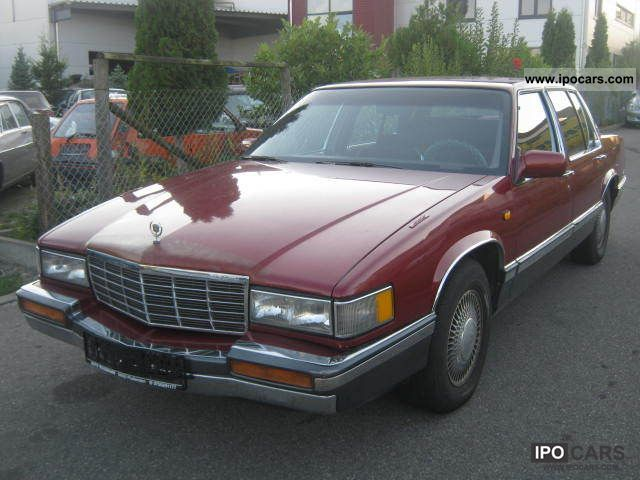 1991 cadillac deville car photo and specs. Cars Review. Best American Auto & Cars Review