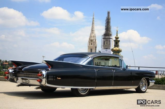 1960 Cadillac Fleetwood Car Photo And Specs