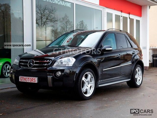 2007 mercedes benz ml 63 amg 4matic 7g tronic full car
