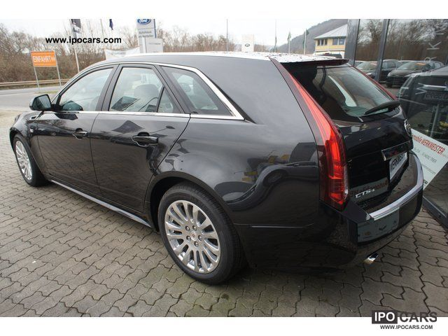 2012 Cadillac Cts Sport Wagon Awd Car Photo And Specs