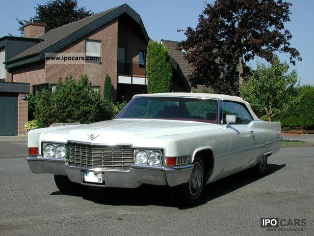 Cadillac  Convertible 1969 Vintage, Classic and Old Cars photo