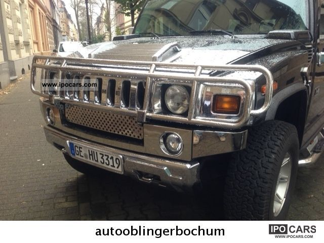 2004 hummer h2 with lots of chrome car photo and specs. Black Bedroom Furniture Sets. Home Design Ideas