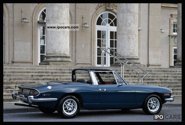 1972 Triumph  STAG V8 ... interesting specimen! H-approval! Cabrio / roadster Classic Vehicle photo