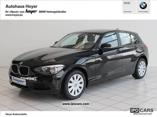 2012 BMW  116i seats PDC Limousine New vehicle photo