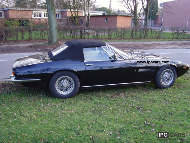 Maserati  Ghibli Spyder 4.7 L, Convertion 1971 Vintage, Classic and Old Cars photo
