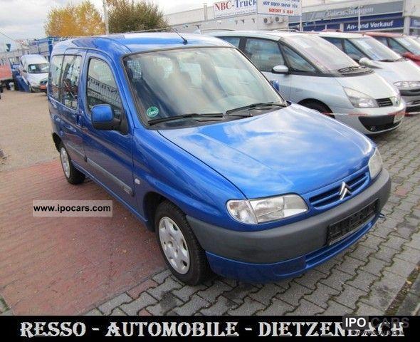 2012 Citroen  Citroën Berlingo Multispace 1.8i Ocean * AIR * HU :11-2013 * Van / Minibus Used vehicle photo